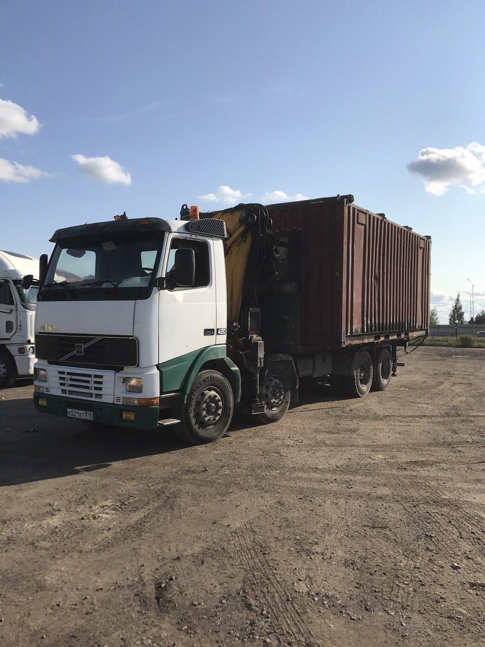 перевозка негабаритного контейнера