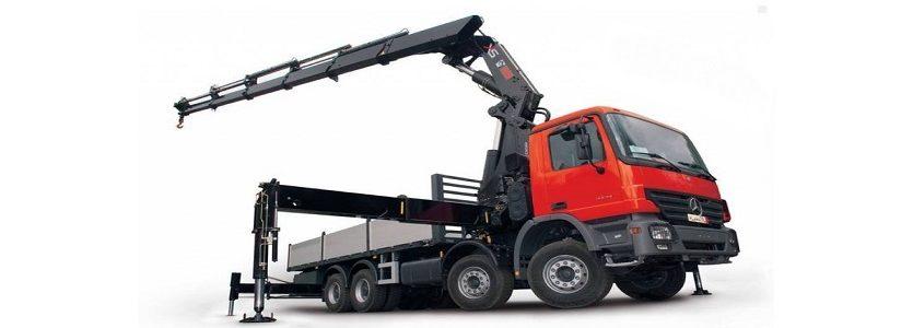 Цена, стоимость аренды грузовика манипулятора крана в спб